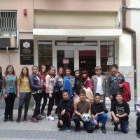 """На 10.05.2014 г. се проведе етап от областния кръг на Проекта """"Народните будители и Аз"""", в който участваха отборите-победители в общините Родопи и Марица."""