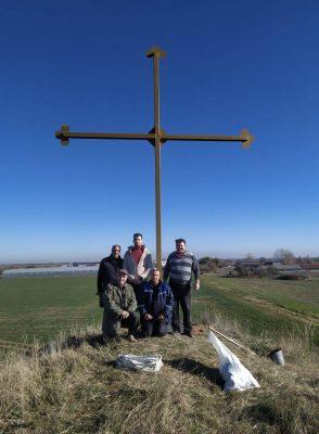 8-метров кръст ще пази Цалапица от беди