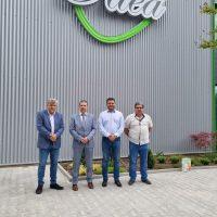 """Откриха завод за мокри кърпи в Ягодово, кметът на община """"Родопи"""" Павел Михайлов беше специален гост"""