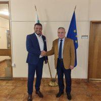 Кметът Павел Михайлов след среща в МК: Благодаря за пълната подкрепа към културните обекти в общината
